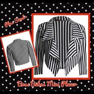 Jackets & Blazers - 💼🖤Bose Babes🖤💕 Mini Blazer